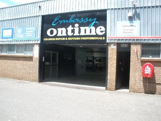 Embassy Ontime Collision Repairs Service Centre